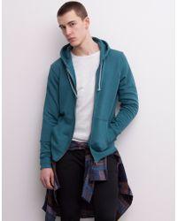 Pull&Bear Basic Chunky Knit Hooded Sweatshirt - Lyst