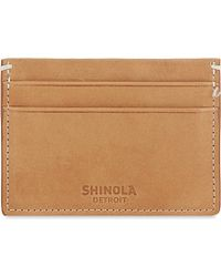 Shinola - Five Pocket Leather Card Case - Lyst