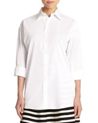 Polo Ralph Lauren Cotton Button-Front Shirt - Lyst