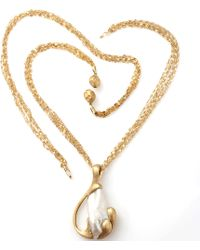 Yvel Freshwater Pearl Pendant Necklace - Lyst