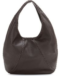 Bottega Veneta Leather Tote - Lyst