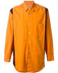 Comme Des Garçons Reversible Shirt - Lyst