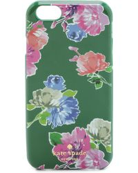 Kate Spade Spring Blooms Iphone 6 Case - Sprout Green - Lyst