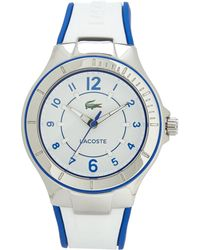 Lacoste Blue  White Watch - Lyst
