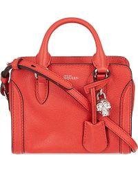 Alexander McQueen Padlock Mini Cross-Body Bag - Lyst
