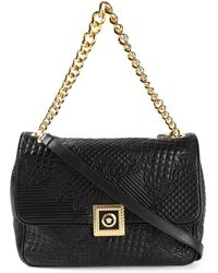Versace New Icon Quilted Shoulder Bag - Lyst
