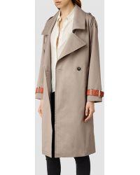 AllSaints Farrah Coat - Lyst