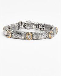 Konstantino 'Classics' Diamond Bracelet - Lyst