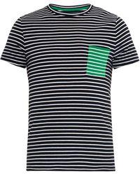 Chinti & Parker Striped Cotton-Jersey T-Shirt - Lyst