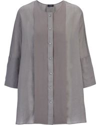Joseph   Ramie Voile And Georgette Thea Blouse   Lyst