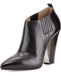 Michael Kors Lacy Pointed Toe Bootie - Lyst