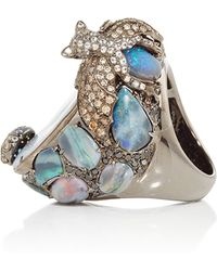 Wendy Yue | Opal Beetle And Bat Ring | Lyst