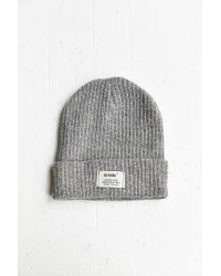 Reason Patch Ribbed Knit Beanie - Lyst