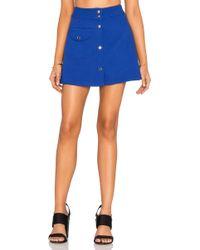 UNIF Valen Skirt - Blue