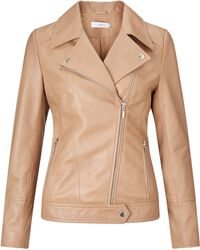 John Lewis - Betsy Leather Biker Jacket - Lyst