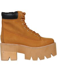 Jeffrey Campbell Brown Scarpa Giallo - Lyst