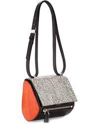 Givenchy Pandora Mini Box Snakeskin Shoulder Bag - Lyst