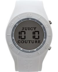 Juicy Couture White Digital Watch - Lyst