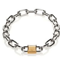 Alexander Wang | Double Lock Necklace | Lyst