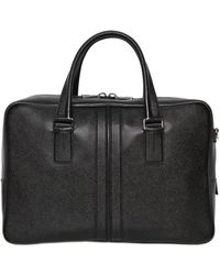 Tod's - Medium Leather Document Holder Bag - Lyst