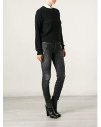 Gucci Zip Detail Jeans - Lyst