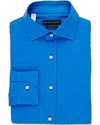 Ralph Lauren Black Label Twill Shirt - Lyst