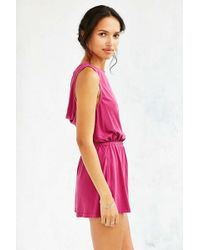 Silence + Noise - Two Twisted Romper - Lyst