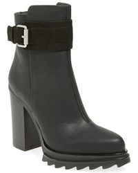 Gx By Gwen Stefani - Color Faux-Leather Ankle Boots - Lyst