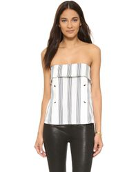 Shades of Grey by Micah Cohen - Strapless Envelope Top - Lyst