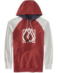 Volcom Paratwine Colorblocked Fleece Hoodie - Lyst