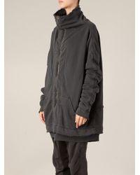 Haider Ackermann Layered Zip Coat - Lyst