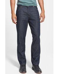 Raleigh Denim 'Alexander' Straight Leg Jeans - Lyst