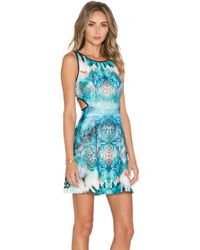Johanne Beck - Claudette Printed Dress - Lyst