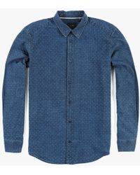 Globe Hyde Shirt blue - Lyst