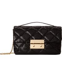 MICHAEL Michael Kors Sloan Small Quilted Messenger - Lyst