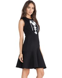52a737617c0 Marchesa Voyage - Embroidered Tank Dress - Lyst