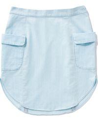 MiH Jeans The Boyfriend Hem Skirt - Lyst