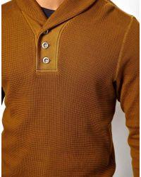 Diesel Shawl Sweatshirt Sester - Lyst