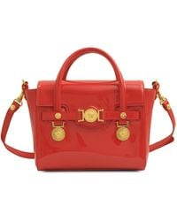 Versace Small Signature Shiny Bag - Lyst