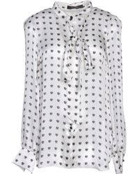 Giles White Shirt - Lyst