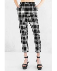 Cooperative - Skinny Check Trouser Pant - Lyst