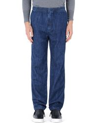 Our Legacy Denim Trousers blue - Lyst