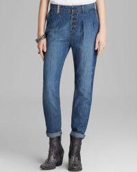 Free People Jeans - Vintage Chambray Edie Denim - Lyst