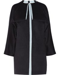 Vionnet Oversized Wool and Angora-blend Coat - Lyst