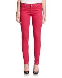 Hudson Nico Mid-Rise Super-Skinny Jeans - Lyst