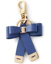 Ferragamo Bow Keychain - Lyst