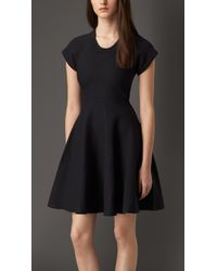 Burberry A-Line Dress - Lyst
