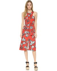 Finders Keepers Aerial Love Dress - Red