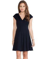 Bailey 44 Blue Biofeedback Dress - Lyst