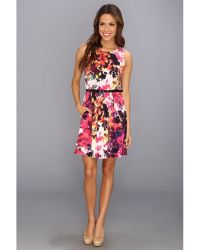 Jessica Simpson Tank Fit and Flare Dress - Lyst